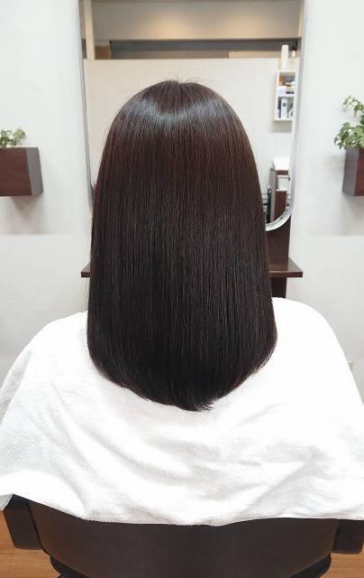 アホ毛、切れ毛、ジリジリ縮れ毛の改善 20代
