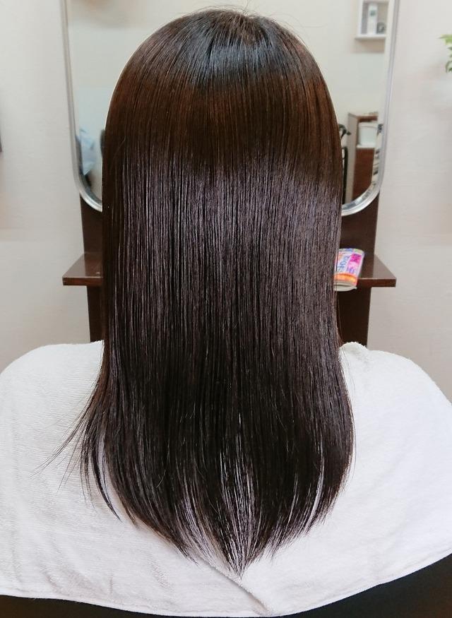 乾燥パサパサ毛から潤い髪へ 30代