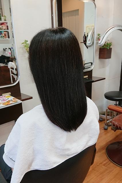ストレートパーマのダメージ アホ毛、切れ毛、バサバサ毛 40代